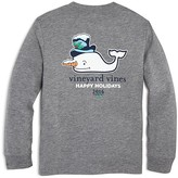 Vineyard Vines Boys' Snowman Whale Tee - Big Kid