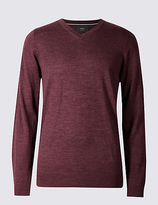 M&s Collection Pure Merino Wool Jumper