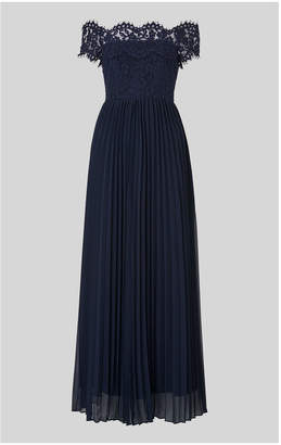 Whistles Lace Maxi Dress