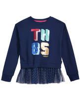 Tommy Hilfiger Sequin Sweatshirt, Big Girls