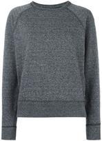 Rag & Bone Jean - eyelets detailing sweatshirt - women - Cotton/Polyester - S