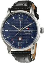 Tommy Hilfiger Men's Watch Casual Sport Analogue Quartz Leather 1791216