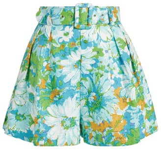 Faithfull The Brand Priscilla Gardone Floral Shorts