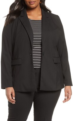 Halogen One-Button Blazer