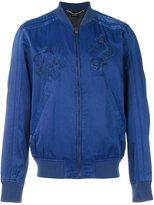 Diesel embroidered bomber jacket