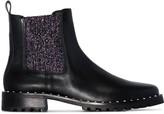 Sophia Webster Bessie glittered Chelsea boots