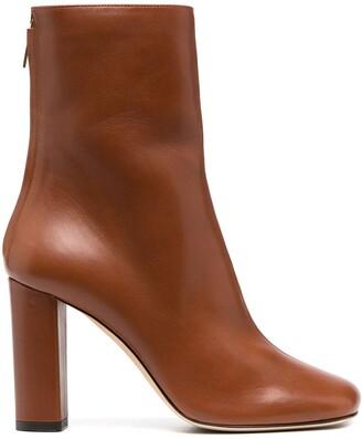 Paris Texas Zip-Up Calf-Length Boots