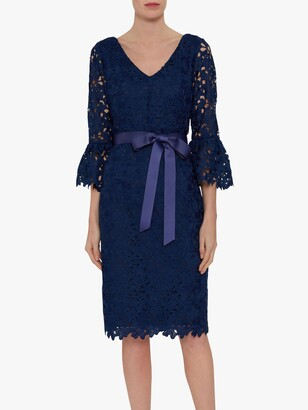 Gina Bacconi Chyna Embroidered Dress