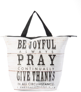 Tricoastal Design 'Be Joyful' Insulated Lunch Tote