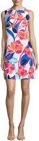 Ronni Nicole Sleeveless Keyhole Sheath Dress-Petites