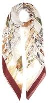 Loro Piana Printed Silk And Cashmere-blend Scarf