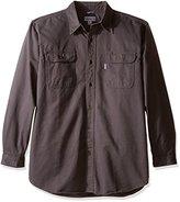 Carhartt Men's Oakman Sandstone Twill Original-Fit Work Shirt S09