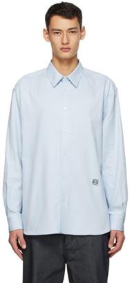 Loewe Blue Anagram Oversized Shirt
