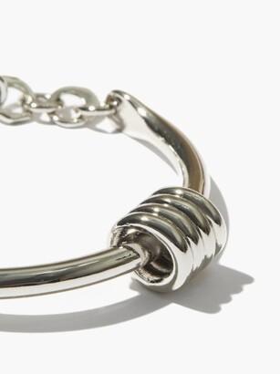 Tohum Dunya Apia Sterling Silver-plated Bangle - Silver