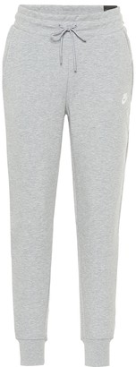 Nike Tech Fleece cotton-blend trackpants