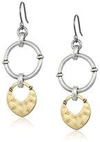Lucky Brand Two Tone Dangle Earrings
