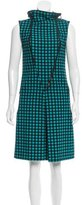 Bottega Veneta Polka Dot Embroidered Dress
