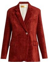 Golden Goose Deluxe Brand Crystal-button corduroy jacket