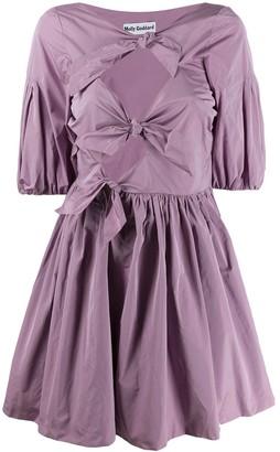 Molly Goddard knot detail dress
