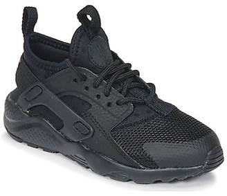Nike HUARACHE RUN ULTRA PRE-SCHOOL girls's Shoes (Trainers) in Black