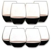 "Riedel O"" Wine Mix Set - Bordeaux / Burgundy (Set of 6 with 2 Bonus Glasses)"