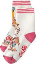 Cath Kidston Pets Party Girls Slipper Socks