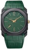 Bvlgari Titanium and Carbon Octo Finissimo Watch 40mm