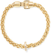 Elizabeth and James Braque gold-tone crystal bracelet