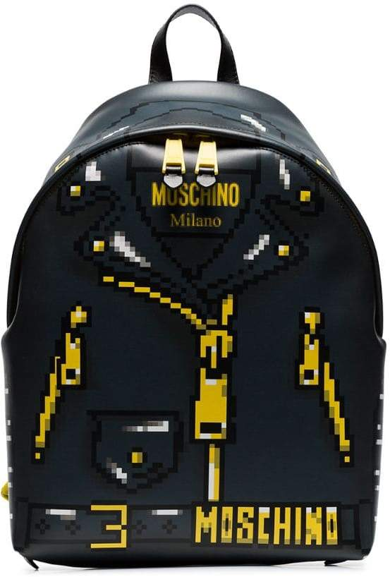 54449e0b2d98 Pixelated jacket print backpack