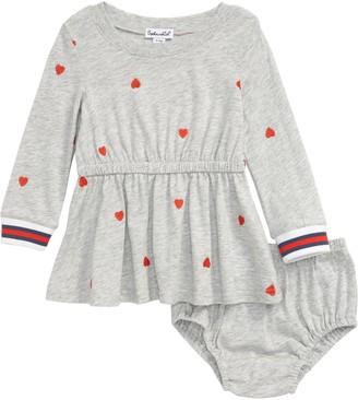 Splendid Schiffli Heart Dress