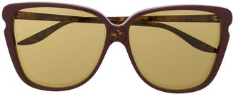 Gucci GG0709S butterfly-frame sunglasses