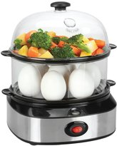 PowerLead PL103 Egg Cooker Egg Steamer Electric Egg Poacher Egg Boiler & Dash Deluxe Egg Cooker& Egg Boiler- Food Safe Silicon Egg Poacher Pods For Perfectly Shaped Eggs- Smart Kitchen Gadget With Many Uses