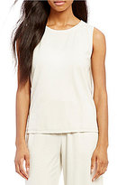 Eileen Fisher Round Neck Tank