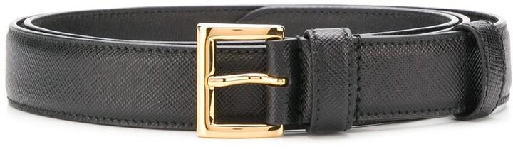 Prada buckle belt