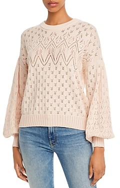 Joie Phillipa Pointelle Knit Sweater