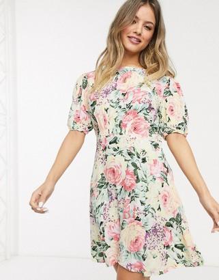 Faithfull The Brand sidonie vintage floral mini dress