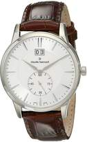 Gents Claude Bernard Men's 64005 3 AIN Classic Analog Display Swiss Quartz Brown Watch