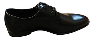 Non Signã© / Unsigned Black Leather Flats