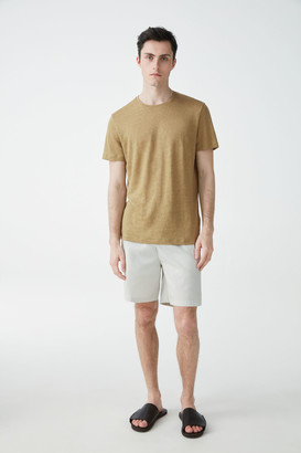 Cos Short-Sleeved Linen T-Shirt