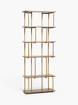 Terence Conran Content by Ultra Alcove Shelving Unit, Brown