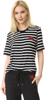 Markus Lupfer Stripe Red Lara Lip Alex Tee