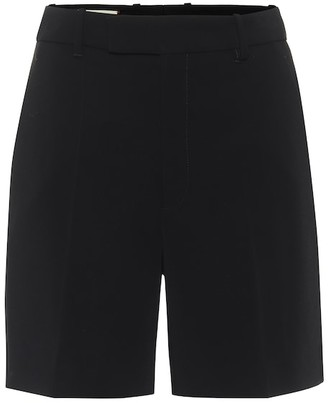 Gucci High-rise cady shorts