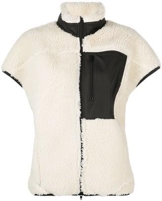 3.1 Phillip Lim Sherpa Bonded Cocoon Vest