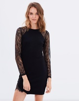 Miss Selfridge Cutabout Lace Insert Dress