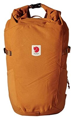 Fjallraven Ulvo Rolltop 23 (Red Gold) Backpack Bags