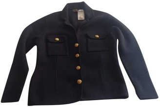 Brooks Brothers Black Wool Jacket for Women Vintage