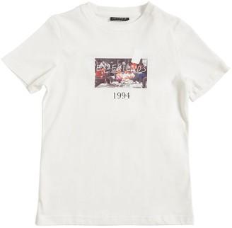 Throwback Friends Print Cotton Jersey T-Shirt