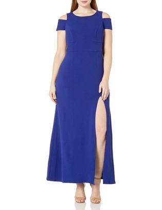 ABS by Allen Schwartz Women's Plus Size Off Shoulder Maxi Dress
