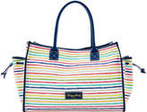 Dooney & Bourke Multi Watercolor Stripes Medium Tote