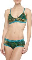 Marlow Xirena Tais Mixed Floral Print Soft Bra,